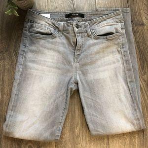 Joe's Grey Jeans size 28 skinny ankle